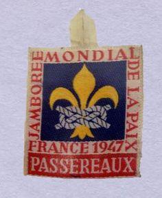 UK Scouting 2007 Friendship Pin Badge