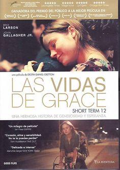 Grace (Brie Larson) es una joven veinteañera que trabaja como supervisora en Short Term 12, un centro de acogida para adolescentes en situación de vulnerabilidad. Le encanta su empleo y vive entregada al cuidado de los chicos.  http://www.filmaffinity.com/es/film395771.html http://rabel.jcyl.es/cgi-bin/abnetopac?SUBC=BPSO&ACC=DOSEARCH&xsqf99=1782066