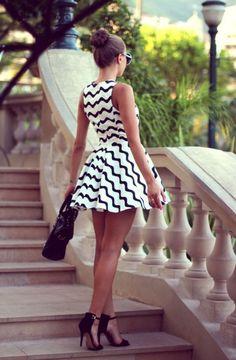 Vintage girly mini dress