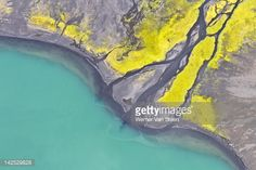 Stock Photo : Iceland aerial view