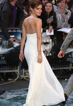 emma watson white dress - Google Search