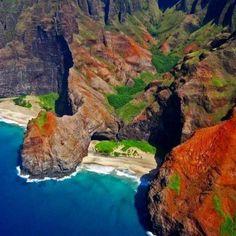 Na Pali Coast @ Kauai, Hawaii