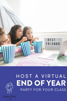 Need some ideas for an end of year celebration to have with your students during distance learning?! In this post, I share 3 fun and simple ways to get together with your students, share memories, and celebrate!