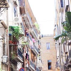 Eine Gasse von Palermo ☀️ #palermo #street #reiselust #kreuzfahrt #mittelmeer #aida #aidablu #cruiseship