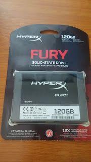 Mini-review SSD Kingston HyperX FURY 120GB