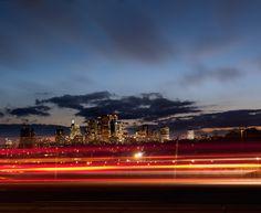 City scape #sunset #lighteffect