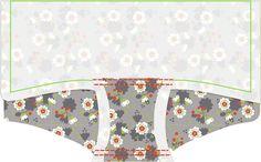 Materialen: * Tricot (Sekura Grey by Lillestof ) (50 cm bij 70 cm) * Elastische biais (2,5 cm bij 80 cm) Omschrijving: Tricot dame...