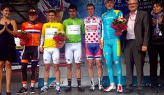 Again we get the yellow of Avenir Tour Leader with one that will also be great, Miguel Angel Lopez.