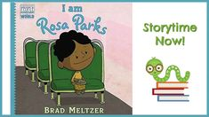 I am Rosa Parks - By Brad Meltzer | Children's Books Read Aloud - YouTube History Timeline, History Memes, History Books, Asian History, Women In History, Ancient History, Frases Rosa Parks, History Activities, Activities For Kids