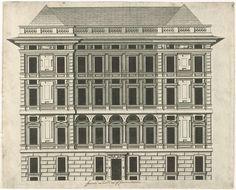 Peter Paul Rubens | Palazzo Spinola, Peter Paul Rubens, 1622 | Voorgevel van Palazzo Spinola, gelegen aan piazza di Pellicceria te Genua.