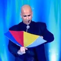 Umbrella Magic Act