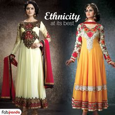 Enhance your true Indian looks with this #ethnic wear!!  https://www.fabpanda.com/womens-suits?utm_source=rakhispecial&utm_medium=facebook&utm_campaign=suits#/page/1