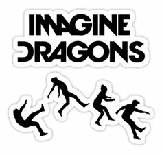Imagine Dragons from Redbubble. Shop more products from Redbubble on Wanelo. Imagine Dragons, Florence Welch, Pentatonix, Dragons Tumblr, Cd Design, Dan Reynolds, Zeref, Meme Stickers, Smoke And Mirrors