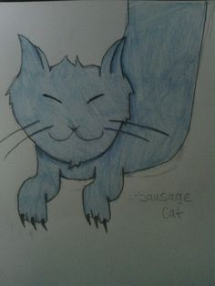 SAUSAGE CAT i derped on the arms though