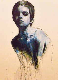Emma Watson portraits by Mark Demsteader
