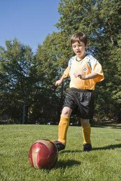 Pre-school soccer drills