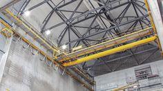Industrivirksomhed i Århus, så leverer LEDsection de energibesparende industri LEDer