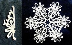 Paper Snowflakes Pattern 15
