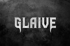 Glaive Typeface by Tugcu Design Co. on @creativemarket