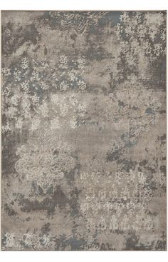$5 Off when you share! Dynamic Rugs Mysterio 1220 Silver Rug #RugsUSA