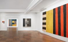 Sean Scully / gallery view / The Eighties solo show / Mnuchin Galery / NY / 2016