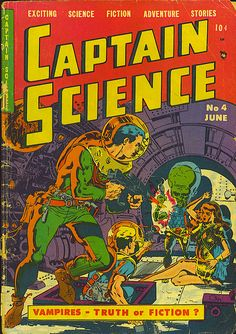 Today feels like a good day to revisit the work of Wally Wood, king of retro sci-fi pulp comic illustrations. Wally Wood was an American comic bo. Sci Fi Comics, Old Comics, Horror Comics, Vintage Comics, Comic Book Plus, Comic Book Covers, Comic Books, Science Fiction Art, Pulp Fiction