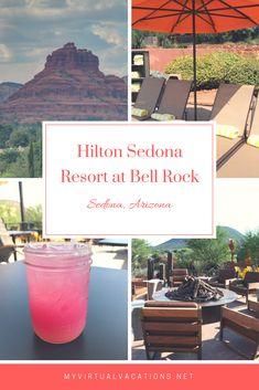 Hilton Sedona Resort at Bell Rock is My Virtual Vacations top pick for a luxury . Hilton Sedona Re Vacation Places, Best Vacations, Places To Travel, Places To Go, Sedona Resort, Grand Canyon Vacation, Visit Sedona, Sedona Arizona, Baby Moon