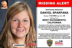 DANYEL SPARPANA, Age Now: 34, Missing: 11/02/1985. Missing From WEST SACRAMENTO, CA. ANYONE HAVING INFORMATION SHOULD CONTACT: West Sacramento Police Department (California) 1-916-375-6474.