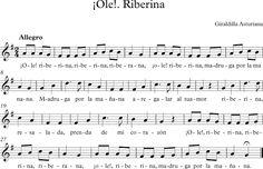 ¡Ole!. Riberina. Giraldilla Asturiana.