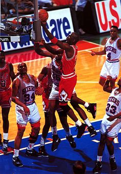 Mike Gets High, '91 East Semifinals.