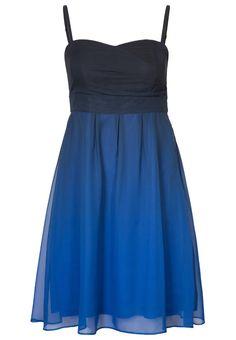 ESPRIT Collection - Cocktailkleid / festliches Kleid - blau