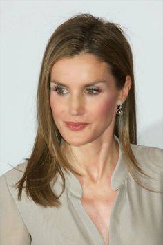 07 June 2014 Princess Letizia attended the Fashion National Awards 1st edition at the Reina Sofia Museum in Madrid