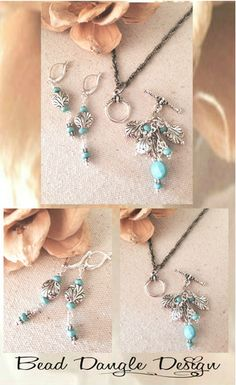 Interchangeable Necklace & Earring Sets. Only At Bead Dangle Design!