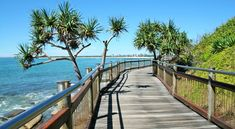 Kings Beach Boardwalk in Caloundra, Sunshine Coast - Discover Queensland Coast Australia, Queensland Australia, Australia Travel, Australian Holidays, Australian Beach, Sunshine State, Sunshine Coast, Great Places, Beautiful Places
