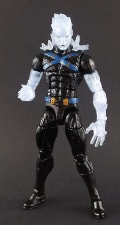 Iceman (Marvel Legends) Custom Action Figure by Shinobitron Base figure: Havok
