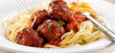 For a really authentic Italian meal, you can serve these little meatballs on a bed of spaghetti.