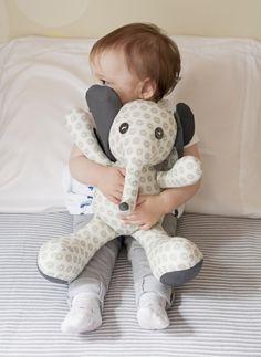 Marian with Elephant