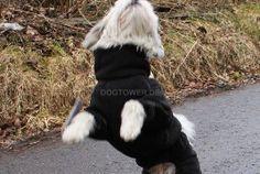Hunde- Unterziehoverall Hurtta, schwarz