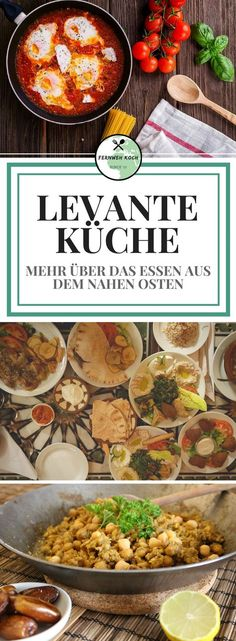 Levante Küche Food from the Levant, Israel, Jordan and Lebanon, is considered one of the food trends Healthy Eating Tips, Healthy Nutrition, Clean Eating, Healthy Recipes, Zucchini Hummus, Food Trends, Ramadan Recipes, Vegetable Drinks, Arabic Food