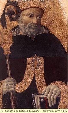 (Algeria, AFRICA) St. Augustine of Hippo was one of the many Black/Moorish leaders of the Roman Catholic religion.