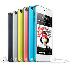 Apple iPod Touch 5th Generation 32GB (Assorted Colors) i would really really really really really like this. especially in blue. <3 (: