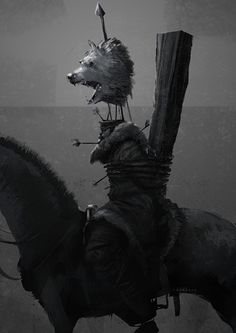 King In The North on Behance---fuck. no. why. i don't even like robb and this pisses me off so much. fuck this. fuck. no. fuck. *uses this as a reference and writes a fantasy scene in gory detail*
