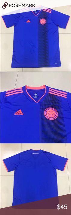 afdef9a28da1e Adidas Colombia Away Jersey 2018 2018 World Cup Colombia Away Jersey adidas  Shirts. Camiseta De ...