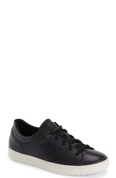 5a678a294302 ECCO  Fara  Sneaker (Women) available at  Nordstrom Black Leather Trainers