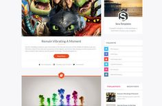 54 Best Free Blogger Templates 2014   New Releases