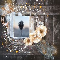 created by Kasia Bogatko: October… - for Scrap Around the World challenge