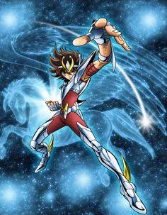 Pegasus Seiya by Omega