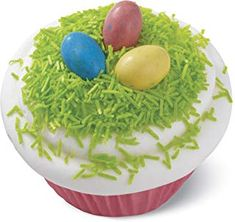 Easter Lemon Cake Recipe with Poured Fondant and Frosting - fun egg shapes and hand decorated with homemade frosting. Sugar Sprinkles, Gourmet Food Store, Gourmet Recipes, Edible Easter Grass, Poured Fondant, Wilton Cupcakes, Homemade Frosting, Easter Eggs