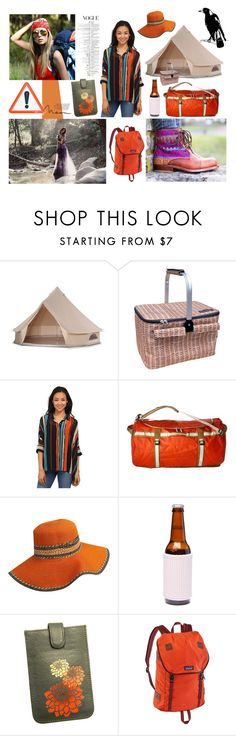 """glamping"" by ilenia-aretusi ❤ liked on Polyvore featuring Wildfox, Miraclebody Jeans by Miraclesuit, The North Face, Sampson & Christie, Patagonia, Anya Hindmarch and glamping"