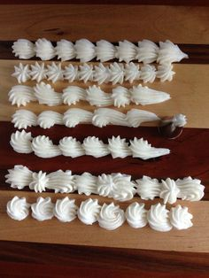 This post is all about fun ways to use piping tips, you'll learn some great piping techniques too. You can even use them to make homemade sprinkles! It's not an exhaustive list but it sure get your cake decorating juices flowing! Cake Decorating Company, Cake Decorating Piping, Creative Cake Decorating, Cake Decorating Tools, Cake Decorating Techniques, Creative Cakes, Cookie Decorating, Cookie Cake Decorations, Decorating Ideas